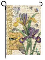 Hope's Garden Flag, Small  -              By: Graceful Designs