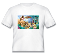 Heavenly Treasure Youth White T-shirt, XL  -