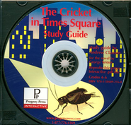 Cricket in Times Square Study Guide on CDROM  -