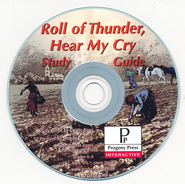 Roll of Thunder, Hear My Cry Study Guide on CDROM  -