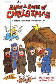 Sing A Song Of Christmas: A Simple Christmas Musical For Kids  - Slightly Imperfect  -