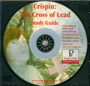 Crispin: The Cross of Lead Study Guide on CDROM  -