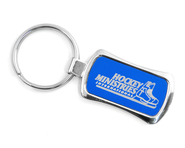 Hockey Ministries International Keychain, Blue    -