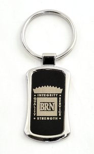Bott Radio Network Keychain, Black   -