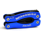 Personalized, Blessed is the Man Blue Multi Tool   -