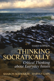 Thinking Socratically  -              By: Sharon Schwarze, Harvey Lape