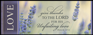 Give Thanks to the Lord Mini Mounted Print  -
