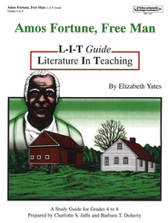 Amos Fortune Free Man L-I-T Study Guide   -     By: Charlotte Jaffe, Barbara Doherty     Illustrated By: Karen Birchak