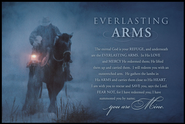 Everlasting Arms Mini Mounted Print  -     By: David Stoecklein