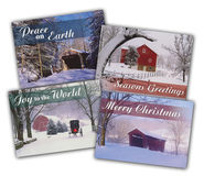 Fresh Snow Christmas Cards, Box of 12  -