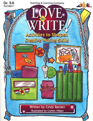 Love to Write!   -     By: Cindy Barden     Illustrated By: Corbin Hillam