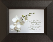 May Your Unfailing Love Rest Mini Framed Print  -