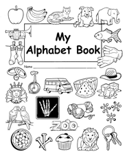 My Alphabet Book  -