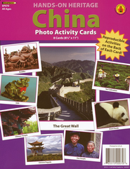 China Photo Activity Cards  -