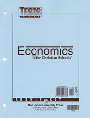 BJU Heritage Studies 12: Economics, Tests Answer Key    -