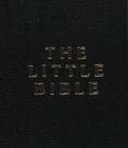The Little Bible, Black Leatherette, Pack of 10    -     By: Bible