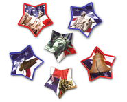 Patriotic Symbols Bulletin Board Accent  -