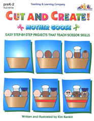 Cut and Create Mother Goose   -