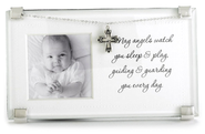 May Angels Watch You Sleep and Play Photo Frame  -