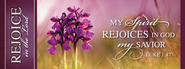 My Spirit Rejoices Magnet  -