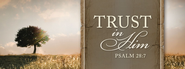 Trust in Him Magnet  -