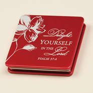 Delight Yourself in the Lord, Mirror Compact  -