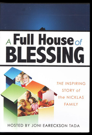 A Full House of Blessing: The Inspiring Story of the Nicklas Family DVD  -     By: Ken Carpenter