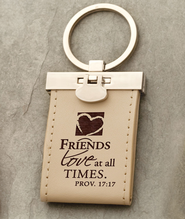 Friends Love at All Times Keychain  -