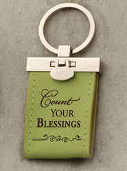 Count Your Blessings Keychain  -