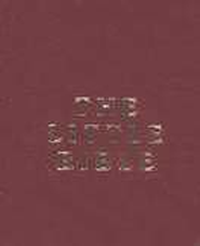 The Little Bible, Burgundy Leatherette, Pack of 10    -
