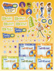 Studio GO! VBS 2009, Game Show Stickers   -