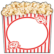Box of Popcorn Discovery Classic Accents Pack of 36  -