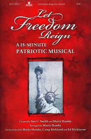 Let Freedom Reign Choral Book   -