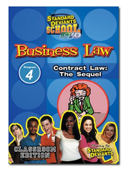 Business Law Module 4: Contract Law - The Sequel DVD  -