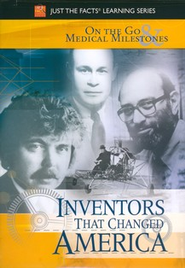 Inventors That Changed America: On the Go & Medical DVD  -