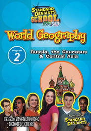 Standard Deviants School World Geography Module 2:  Russia, The Caucasus and Central Asia DVD  -