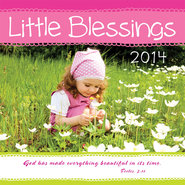2014 Mini Wall Calendar, Little Blessings  -