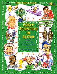 Great Scientists in Action, Grades 4-8   -     By: Ed Shevick