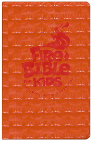 NIV Fire Bible for Kids Flex Cover     -