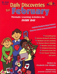 Daily Discoveries for February: Thematic Learning  Activities for Every Day  -