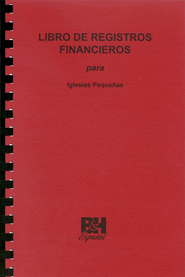 Libro de Registros Financieros para Iglesias Pequeñas  (Finance Record Book for Small Churches)  -
