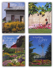 Country Gardens Encouragement Cards, Box 12  -