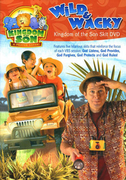 Wild & Wacky: Kingdom of the Son Skit DVD  -