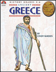 Ancient Greece Book and PowerPoint CD  -