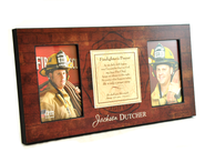 Personalized, Firefighter Photo   -