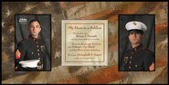 Soldier Prayer with Photo Opening    -