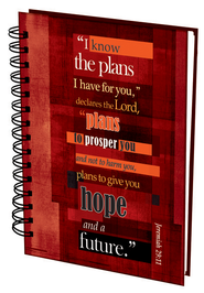 I Know the Plans Wirebound Journal  -