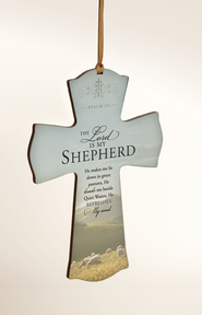 Shepherd's Psalm Mini Cross  -