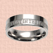 Trust in the Lord Women's Ring, Size 8  -
