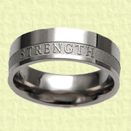 Strength Women's Ring, Size 8  -